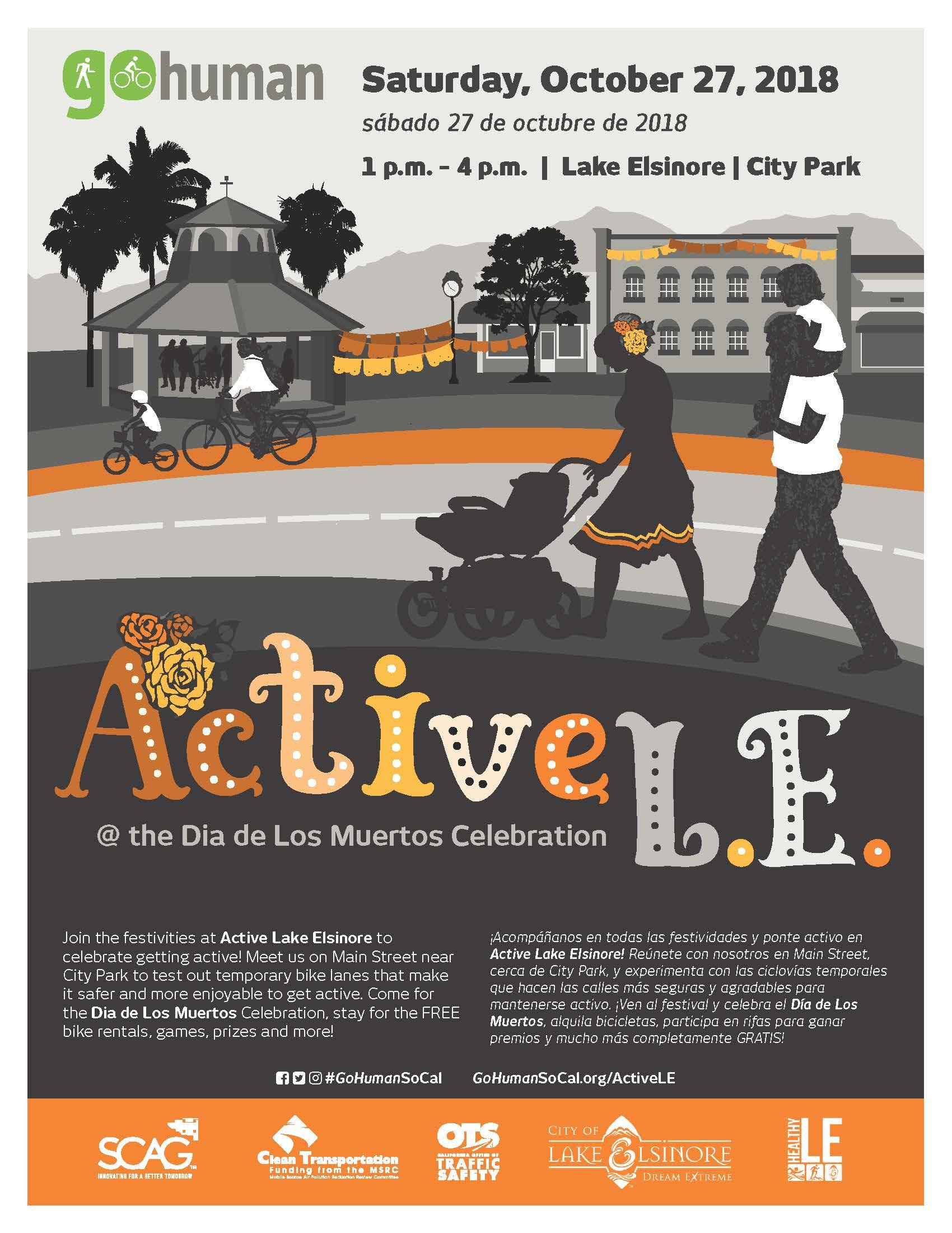 City of Lake Elsinore : Event Calendar : Dia De Los Muertos
