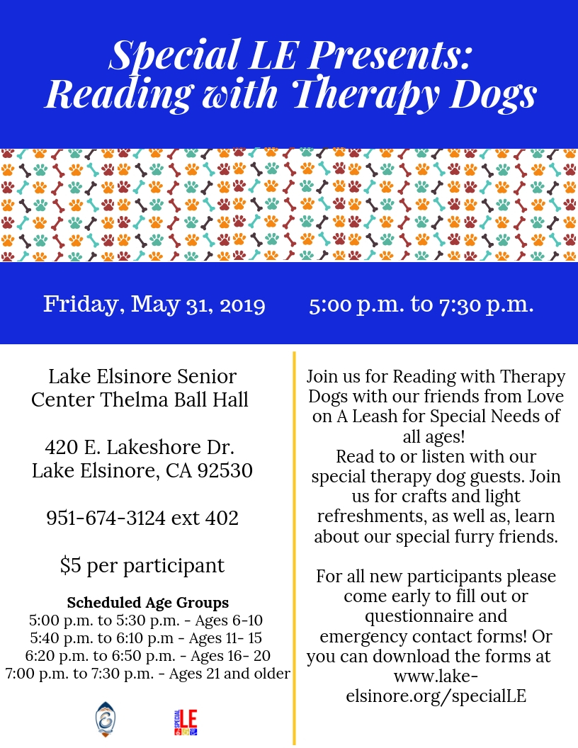 SLE Therapy Dogs