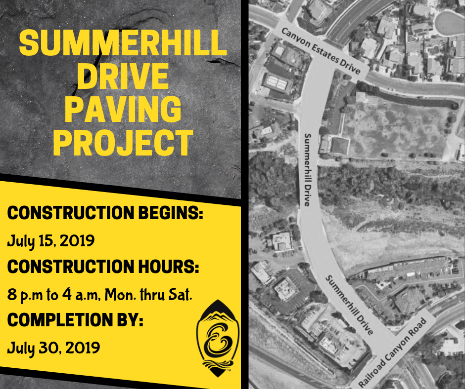 Summerhill Paving Project