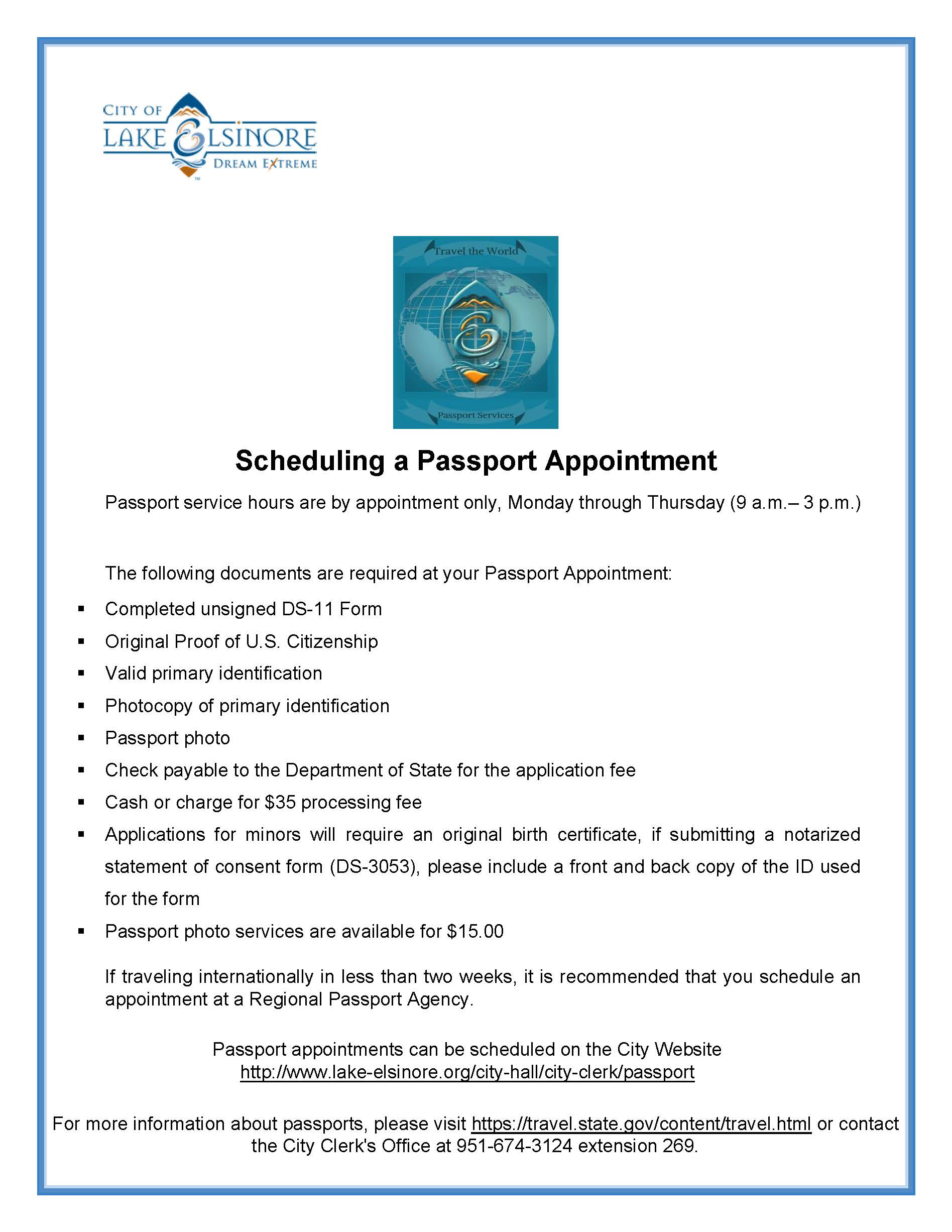 Passport Flyer