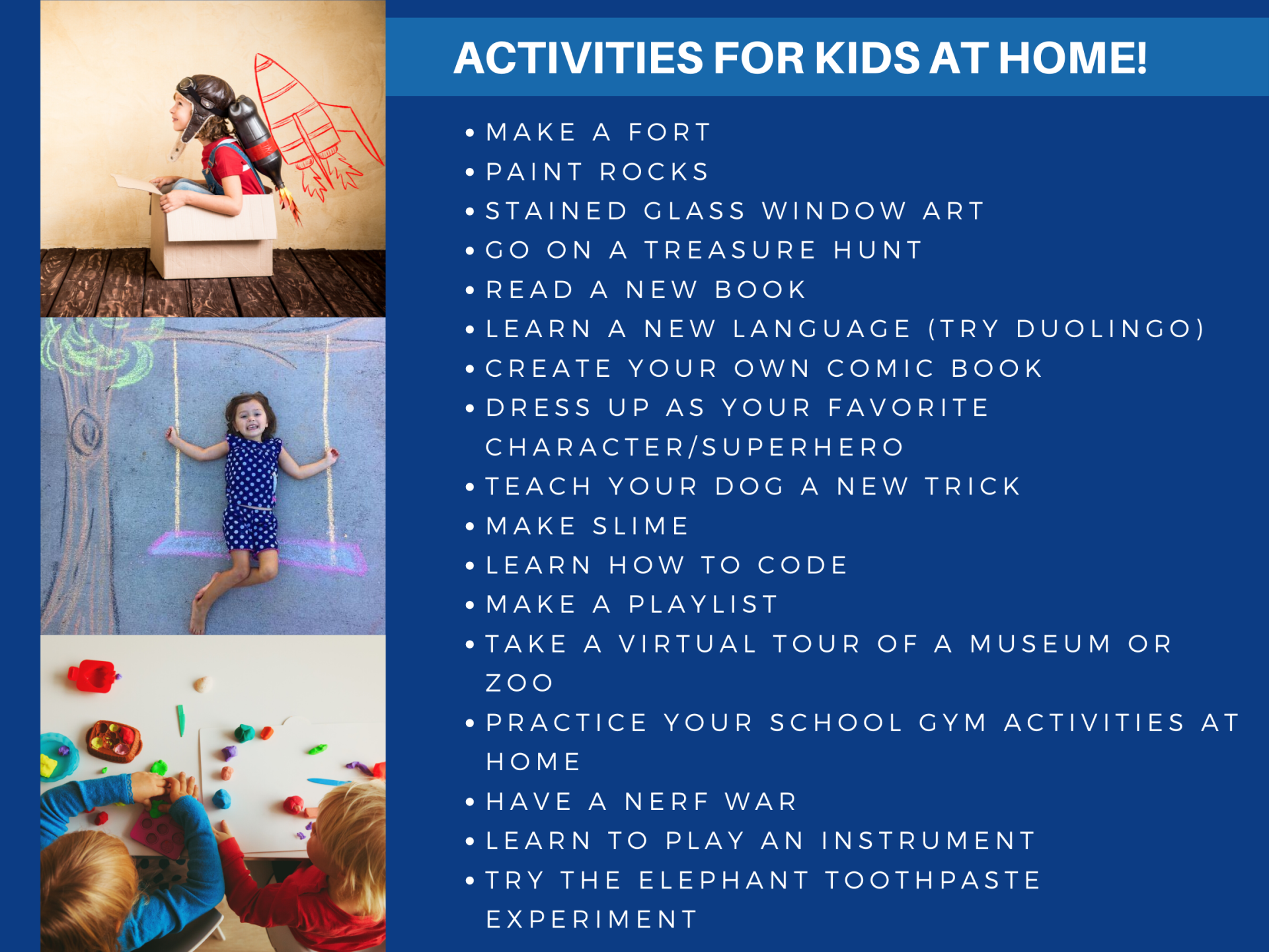 kids_list of activities