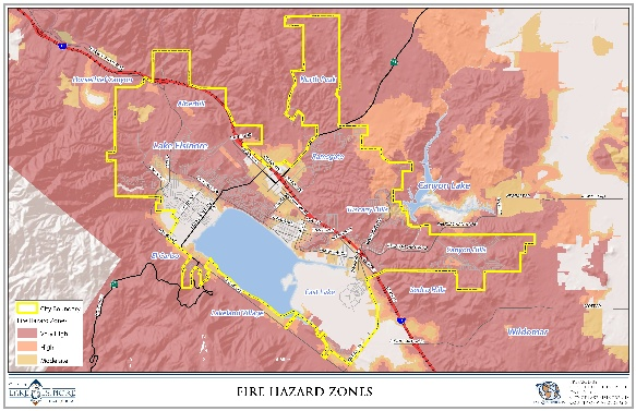 Fire Hazard Zones