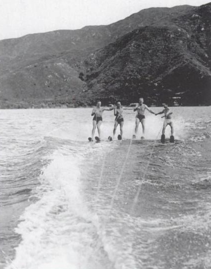 Water Skiing 1940s