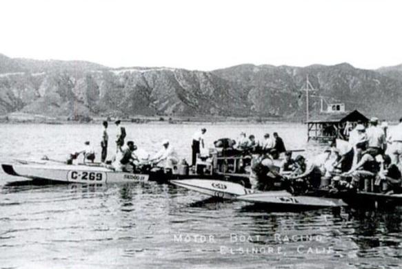 Lake Elsinore Boat Racing 1920s