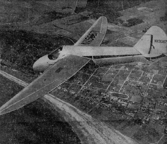 Elsinore Glider In Air