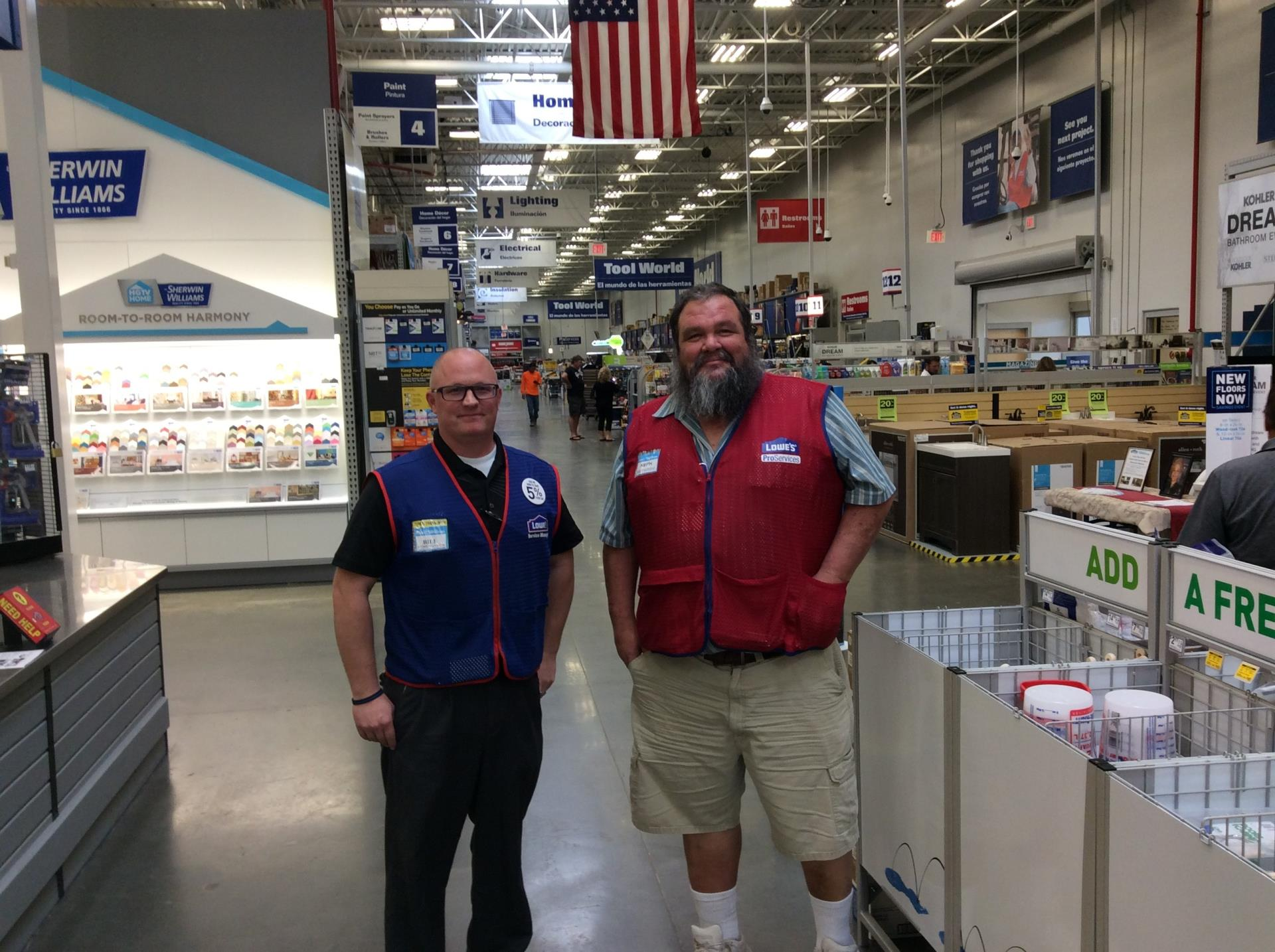 Lowes inside