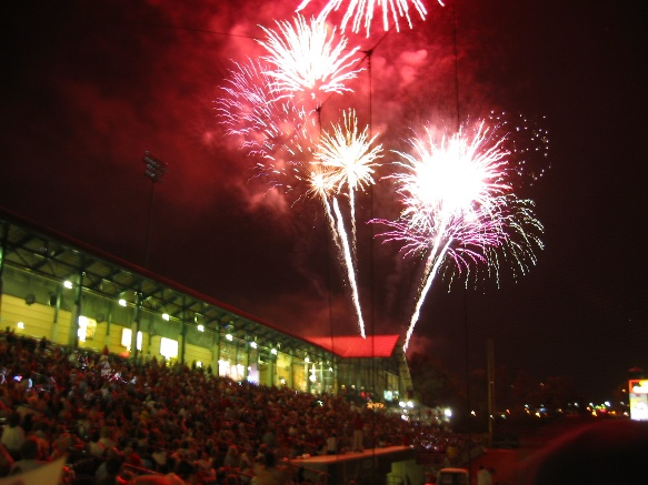 Diamond Stadium Fireworks