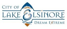Lake Elsinore logo and Dream Extreme slogan