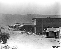 View of Main Street in 1887