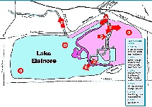 Lake Elsinore Management Plan diagram