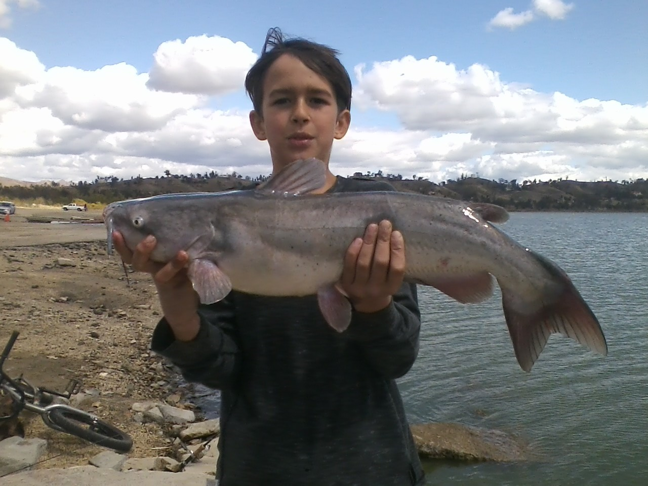 boy and Catfish