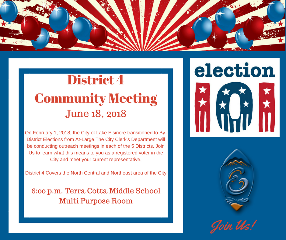 District 4 Community Meeting