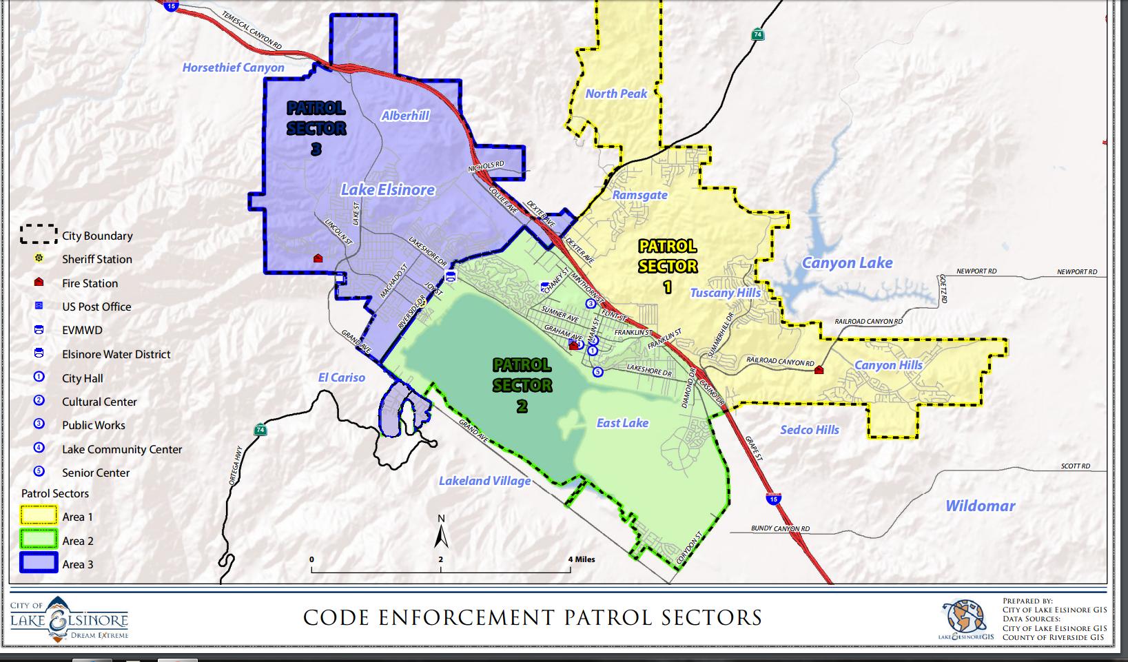 map of lake elsinore City Of Lake Elsinore Code Enforcement map of lake elsinore