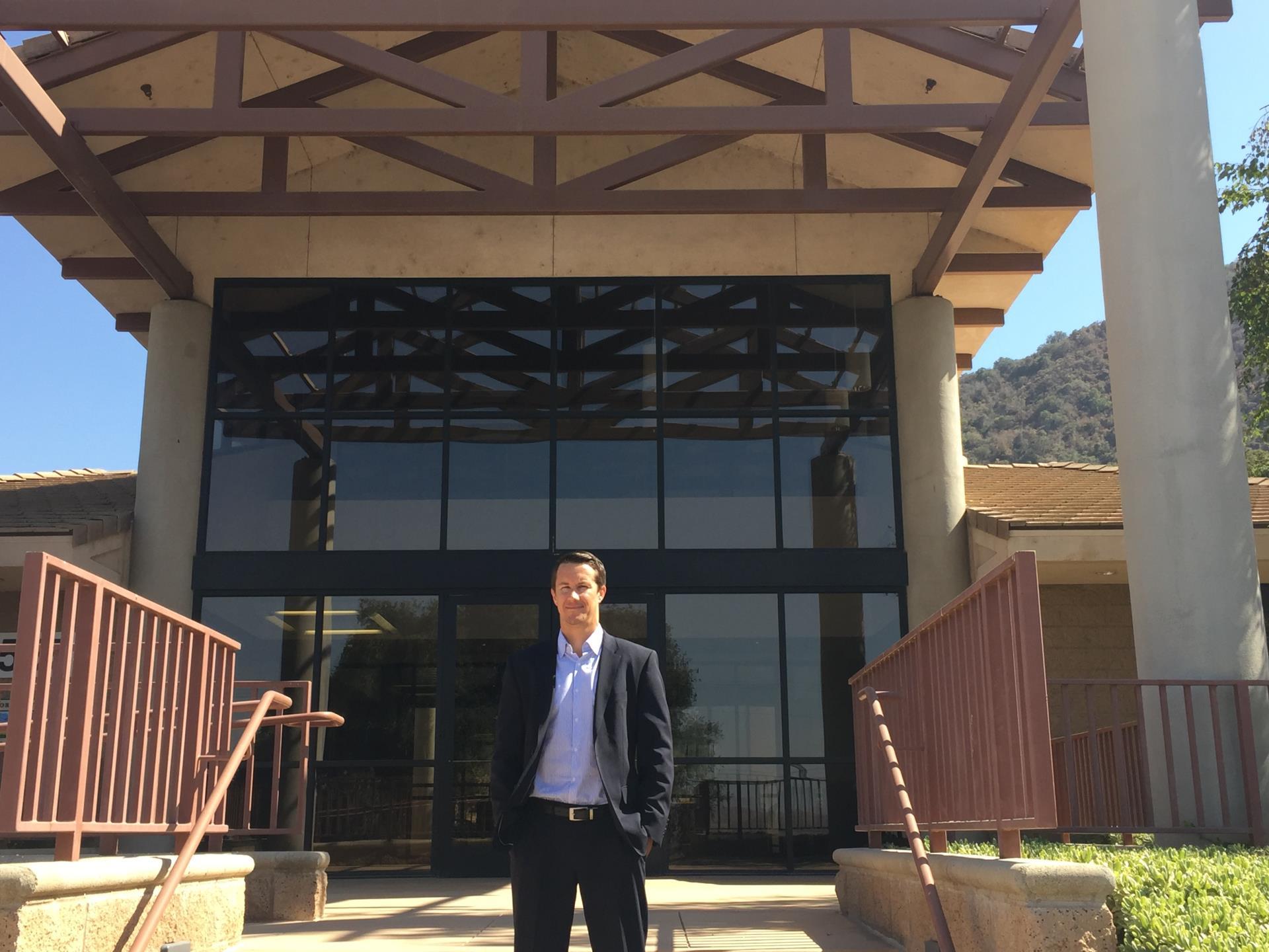Eric Werner at HQs